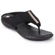 Picktoes Women Casualwear Black Slip-On Flats