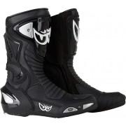 Berik Race-X Racing Motocyklové boty 45 Černá