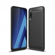 Carcasa TECH-PROTECT TPUCARBON Samsung Galaxy A70 (2019) Black