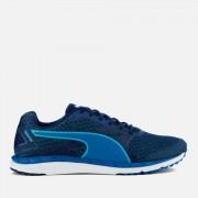 Puma Men's Speed 300 Ignite 2 Running Trainers - Lapis Blue/Blue Depths/Turquoise - UK 11 - Blue