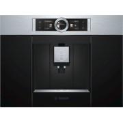 Espressor incorporabil Bosch CTL636ES1,19 bar, 1600 W, 2.4 l, Display TFT, Touch control, Inox