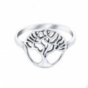 Inel din argint The Tree