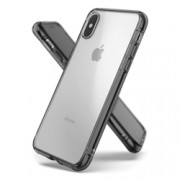 Husa Apple iPhone X, iPhone 10 Ringke Fusion Kit - Smoke Black