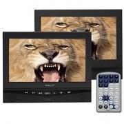 Nevir Reproductor DVD portátil Nevir NVR2778PDCU DOBLE PANTALLA
