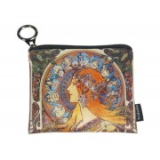 FRI.19277 Mini pénztárca textil,12x1,5x10cm, Mucha: Zodiac