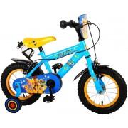 Disney Toy Story Kinderfiets - Jongens - 12 inch - Blauw/Geel - 2 handremmen