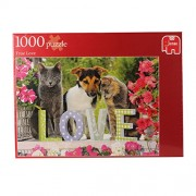 Jumbo Games Puzzles True Love Jigsaw Puzzle (1000 Pieces)