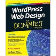 Wordpress Web Design for Dummies 3rd Edition by Lisa SabinWilson