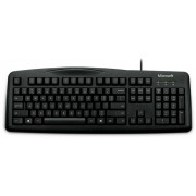 Tastatura Microsoft Wired 200 cu fir neagra USB