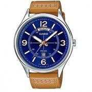 Casio Enticer Analog Blue Dial Mens Watch-A1241 (MTP-E129L-2B2VDF)