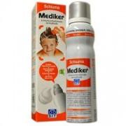 Mediker schiuma 150ml miscela per trattare le parassitosi del cuoio capelluto sit