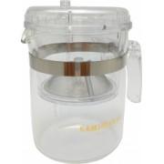 Cana ceai cu infuzor sticla termorezistenta 300ml