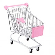Imported Mini Shopping Cart Trolley Toy Size M Yellow