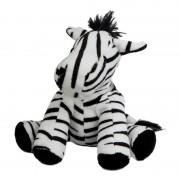 Geen Pluche knuffel zebra 19 cm