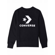 Converse! Jongens Sweater - Maat 152 - Zwart - Katoen/polyester