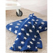 Patura albastra cu stelute 130 x 180 cm Stars