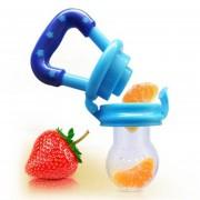 EH Musica De Comida De Bebe Bebe Bebe Morder Fruta Verdura Complemento Alimentador Chupete-Azul