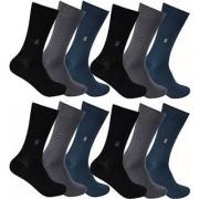 Deeshika Enterprises Men's Mid-calf Length Socks ( pack of 12)