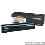 LEXMARK Cartridge for C935, black - 38000k (C930H2KG)