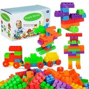 YOOKOON 72pcs Block Building Blocks Toys Set Boy Girl Baby Education Gift Free Connection Combo Stacking Blocks Toys
