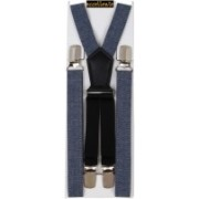 Eccellente Y- Back Suspenders for Men, Women(Blue)
