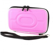 Pink EVA Carry Zipper Case Cover Pouch Wallet for 25 inch Hard Drive Disk - Assorted Color