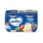 Mellin Merenda Mela Yogurt 2x120g
