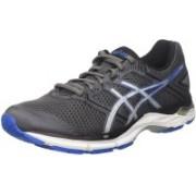 Asics Gel-Phoenix 8 - Carbon/Directoire Blue/Silver Running Shoes For Men(Grey, Blue, Silver)