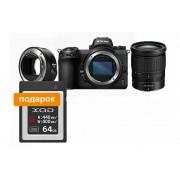 Nikon Фотокамера Z 6 + объектив 24-70/4 S + переходник FTZ