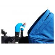 Addbaby Protector Barra de Seguridad Carro Bebé Azul