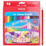 Creioane colorate 24 culori/set EPENE