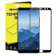 Folie sticla Wozinsky Full Glue pentru Huawei Mate 10 Pro margini usor curbate neagra