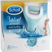 Scholl Velvet Smooth Wet & Dry Elektrisk Fotfil