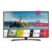 "LG 49UJ634V 49"" 4K UltraHD TV, 3840x2160, DVB-T2/C/S2, 1600PMI, Smart webOS 3.5, Active HDR, 360 VR, WiDi, WiFi 802.11ac, Bluetooth, Miracast, LAN, CI, HDMI, USB, TV Recording Ready, Cresent Stand, Havana gray Демонстрационен артикул"