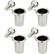 Doyours 4 Pack of SS Glossy Tumbler Holder