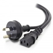 ALOGIC 5m Aus 3 Pin Wall to IEC C13 - Male to Female