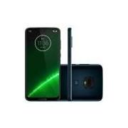 Smartphone Motorola Moto G7 Plus XT1965-2 Indigo 4GB 64GB Tela 6.24 Dual Chip 4G Android 9 16MP+5MP+12MP - Desbloqueado