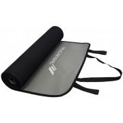 Rucanor fitnessmat 180 x 60 cm 6 mm zwart/grijs