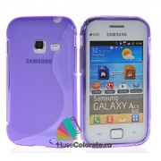 Husa Samsung S6802 Galaxy Ace Duos Silicon Gel Tpu S-Line Mov