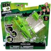 Ben 10 Omniverse Alien Vehicle Proto-Flyer [Exclusive Translucent Ben Action Figure] by Ben 10