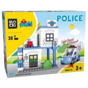 Joc constructie Sectia de Politie, 38 piese, Blocki mubi