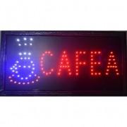 Reclama luminoasa cu leduri Cafea, 50 x 25 cm