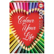 Educa Children's 500 Color Your Life Puzzle (Piece)