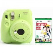 Fujifilm Aparat FUJIFILM Instax mini 9 Lime Zielony + 10 Wkładów Fimowych