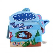 YeahiBaby Baby Cloth Books The Ocean World My First Soft Book Intelligence Development Toys for Baby Toddler Infant