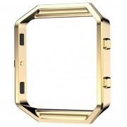 Louiwill Marco 100% Nuevo De Lujo Para Fitbit Blaze Smart Watch Cómodo & Amp; ¡Ensamble Fácil El Bisel Solamente Para Usted! (Oro)