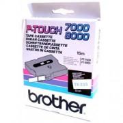Banda continua laminata Brother TX233, 12mm, 15m