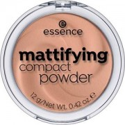 Essence Complexion Powder & Rouge Mattifying Compact Powder No. 60 True Mahogany 12 g