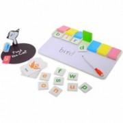 Joc educativ pentru copii cu tablita de scris - Invata Cuvinte in limba engleza