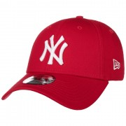 New Era 9Forty League Basic Yankees Cap by New Era in rosso, Gr. One Size